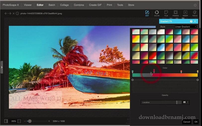 مميزات برنامج PhotoScape